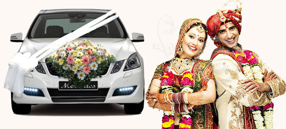 Hyderabad Wedding Cars Wedding Car Hire Hyderabad Decorated Car